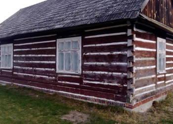 Dom drewniany z bali do rozbiórki lub przeniesienia