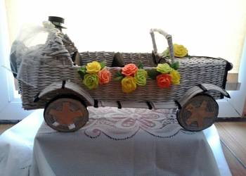 Pojazdy z papierowej wikliny