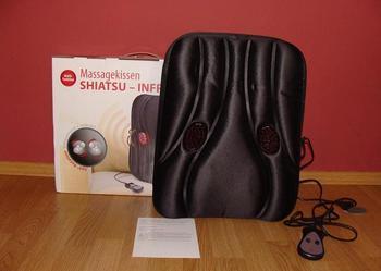 Poduszka masująca SHIATSU-INFRA