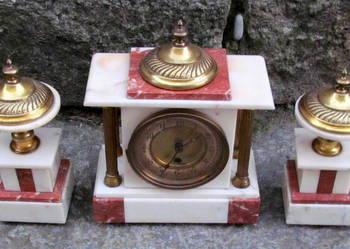Zegar kominkowy art deco