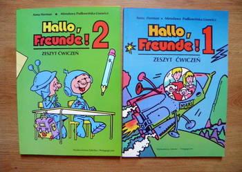 "Hallo, Freunde! 1 + Hallo, Freunde! 2 ćw."" WSiP, Anna Herman"
