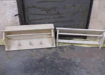 Stara drewniana półka wisząca , wieszak