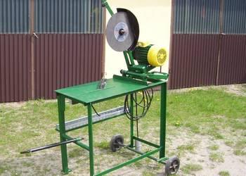 Maszyna piła gumowka do ciecia metalu