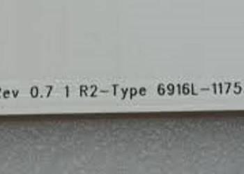 """6916L-1175A 47"""" R2"""