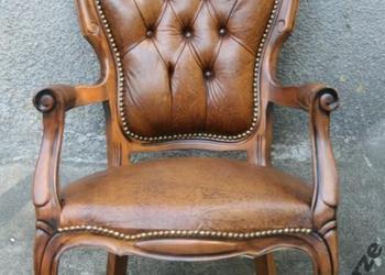 Piękny,stylowy fotel ludwikowski, ludwik
