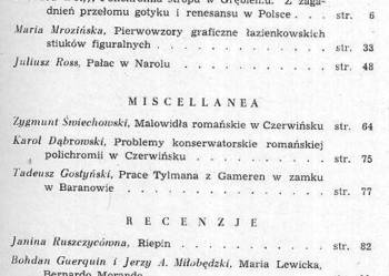 BIULETYN HISTORII SZTUKI - 1953 - NR 2 ROK XV