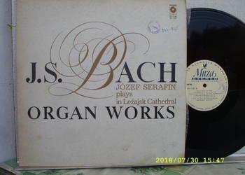 KLASYKA ;J.S. BACH-Organ works --2 LP winyle