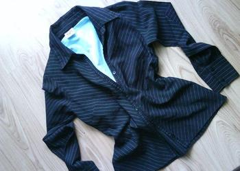 czarna elegancka  koszula damska