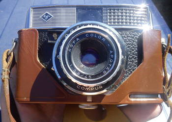 Analogowy aparat fotograficzny AGFA