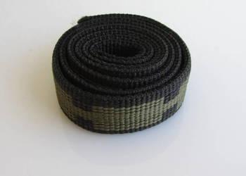 Pas taśma bardzo mocna zielony wzór 96cmx2,5cmx3,5mm