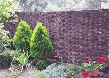 Płoty wiklinowe ogrodzenie wiklinowe super cena