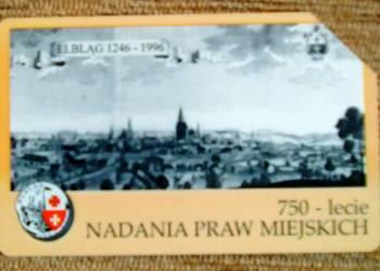 ELBLĄG - 750-LECIE NADANIA PRAW MIEJSKICH