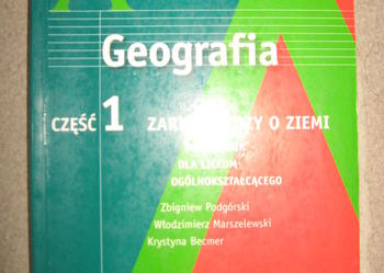 GEOGRAFIA CZ.1 ZARYS WIEDZY O ZIEMI ZAKRES ROZSZERZONY