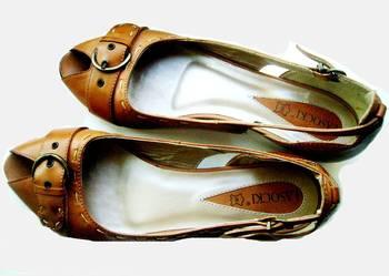 Nowe buty Lasocki SkÓra-Lasocki r.38,wkł 24,5 Wiosna-Lato