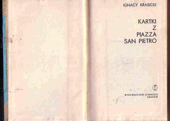 (4188) KARTKI Z PIAZZA SAN PIETRO – IGNACY KRASICKI