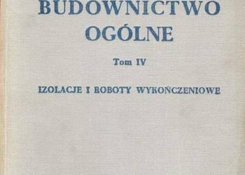 BUDOWNICTWO OGÓLNE TOM IV