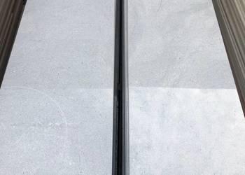 Płytki na schody 120cm szare połysk NAJTANIEJ