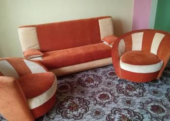 TANIO komplet ZESTAW WYPOCZYNKOWY wersalka 2 fotele