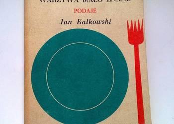 Książka kucharska. Warzywa mało znane.