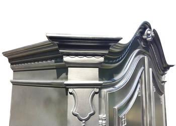 Ludwikowska szafa pałacowa w srebrze