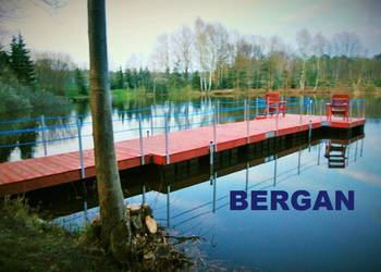 POMOST PŁYWAJĄCY pomosty pływające platformy pływaki Międzychód