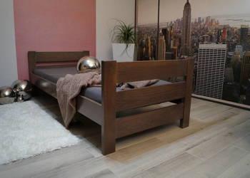 SOLIDNE drewniane łóżko  90x200  bukowe buk PRODUCENT