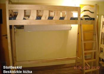 Używany, łóżko lozka piętrowe antresola łóżka lozko piętrowe NOWE na sprzedaż  Bielsko-Biała