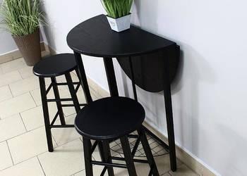 Zestaw mebli  - salon - kuchnia stół i 2 hokery
