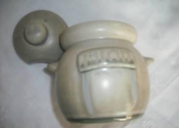 Na MIÓD naczynie ceramiczne  + łyżeczka do miodu