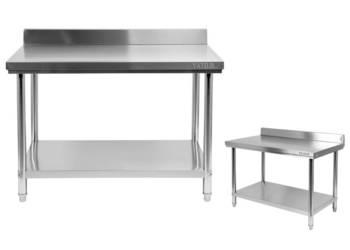 Yato stół przyścienny rant półka nierdzewka 120x70cm