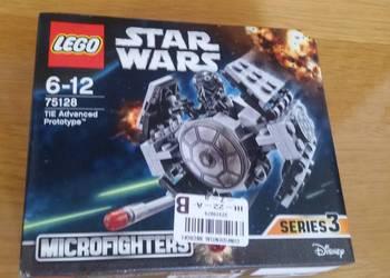 Klocki Lego, star wars TIE Advanced Prototype, 75128