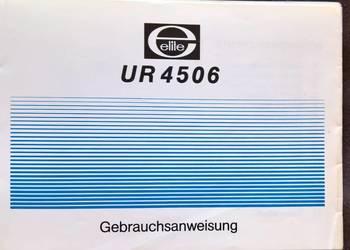 Instrukcja Obsługi Radia NRD UR 4506