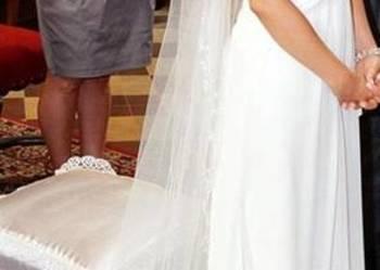 Sprzedam suknię ślubną Divina Sposa rozmiar 36