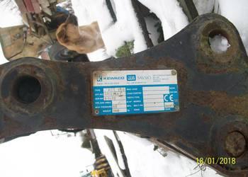Szybkozłącze hydrauliczne przednie do koparko-ładowarki