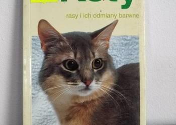 Książka, zwierzęta, Koty - przewodnik.