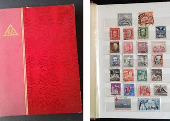 Klaser ze znaczkami, okasja dla kolekcjonera.