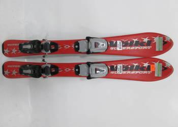 narty dziecięce VOLKL supersport /80cm