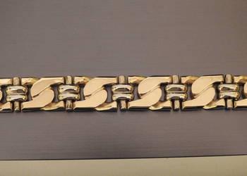 piękna złota bransoleta 585 14k