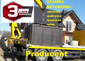 Szamba - szambo z płytą najazdową 5m3 Zbiornik betonowy