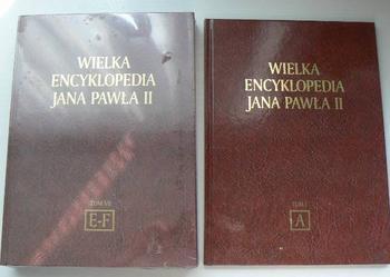 Wielka Encyklopedia Jana Pawła II tom A,C,C/D, D/E , E/F