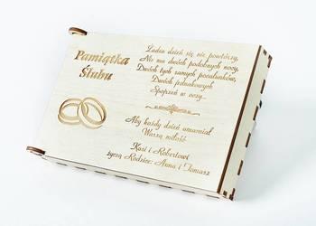 Pamiątka Ślubu, pudełko na pieniądze NP8