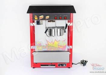 Nowa maszyna do popcornu. Urządzenie do pop-cornu, kukurydzy