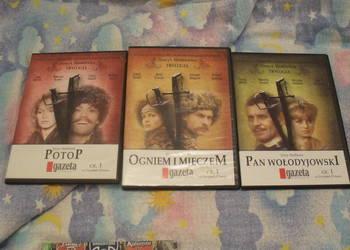 Trylogia Sienkiewicza - filmy DVD