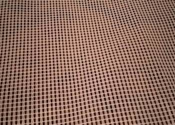 Biała firanka bez wzorów 150 x 450 cm