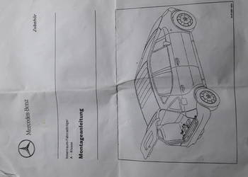 Bagażnik stojak rowerowy do Mercedesa a-klasa