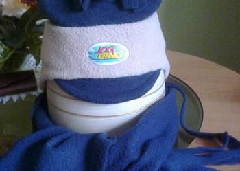czapeczka z szalikiem na 2 latka