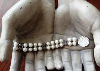 Bransoletka prawdziwe perły cacko