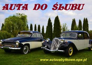 AUTO DO ŚLUBU   CITROEN  B11 z 1947 roku