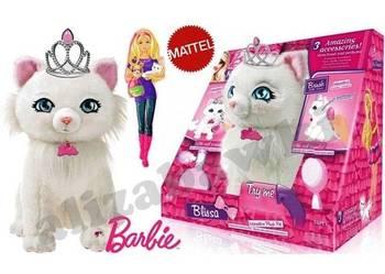 Maskotka Interaktywna Kicia Kotka Kot Barbie 24cm. akcesoria