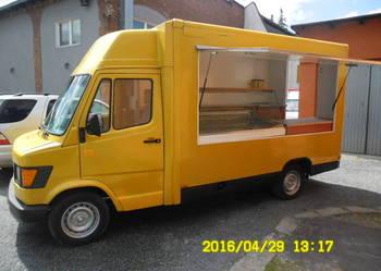 Mercedes Autosklep Sklep Bar Food Truck Mięso Wędliny WYNAJE